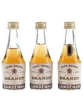 Sandeman Capa Negra De Luxe Brandy
