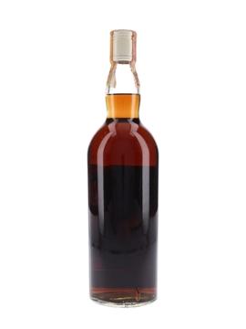 Macallan 1955 Campbell, Hope & King Bottled 1970s - Rinaldi 75cl / 45.8%