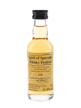 Spirit Of Speyside Whisky Festival 2006