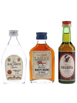Bacardi, Bardinet & Lamb's