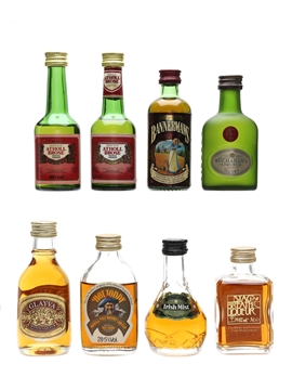 Assorted Whisky Liqueurs