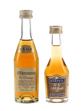 Hennessy VSOP & Martell VS