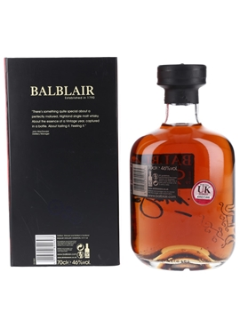 Balblair 1990 Bottled 2014 - 2nd Release 70cl / 46%