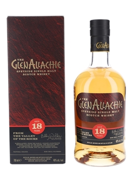 Glenallachie 18 Year Old Bottled 2018 - Signed Bottle 70cl / 46%