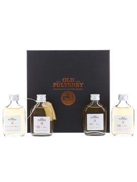 Old Pulteney Huddart, 12, 15 & 18 Year Old