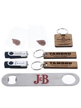 Assorted Branded Memorabilia
