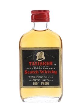 Talisker 100 Proof Black Label Gold Eagle