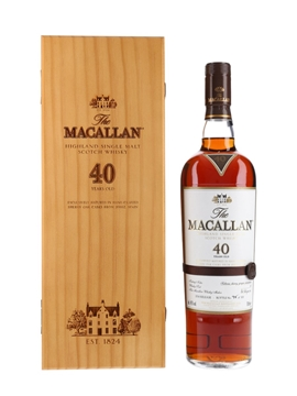 Macallan 40 Year Old