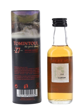 Tomintoul 27 Year Old  5cl / 40%