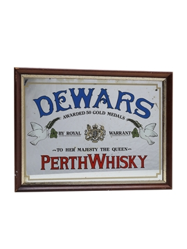 Dewar's Perth Whisky Mirror