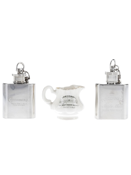 Key Ring Hip Flasks & Water Jug
