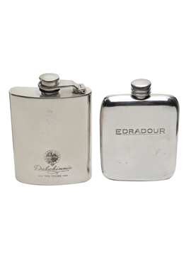 Dalwhinnie & Edradour Hip Flasks