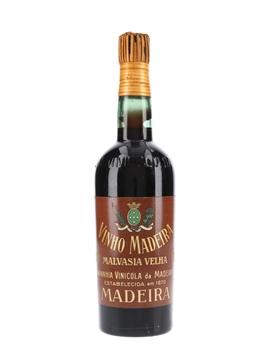 Companhia Vinicola Da Madeira Malvasia Velha 1877