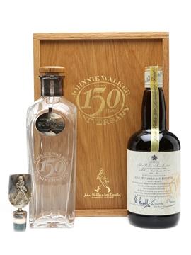 Johnnie Walker 150th Anniversary & Decanter