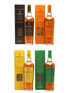 Macallan Edition No.1, 2, 3 & 4