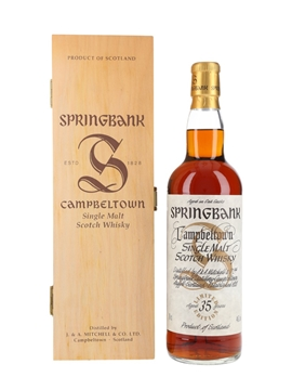 Springbank 35 Year Old