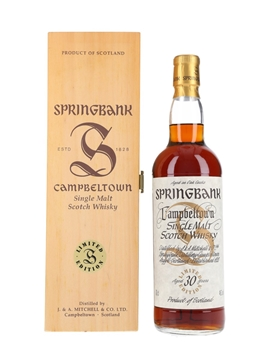 Springbank 30 Year Old