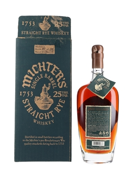 Michter's 25 Year Old Single Barrel Straight Rye  70cl / 58.65%