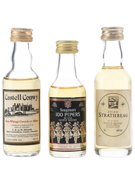 Castell Conwy, Seagram's 100 Pipers & Strathbeag 17-20