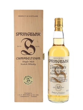 Springbank 50 Year Old