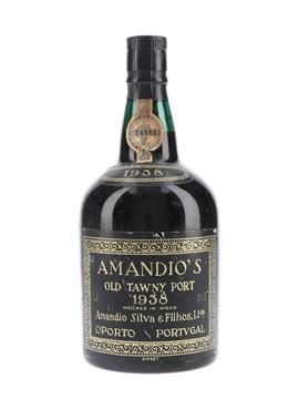 Amandio's 1938 Colheita Port