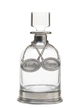 Pewter Decanter With Stopper
