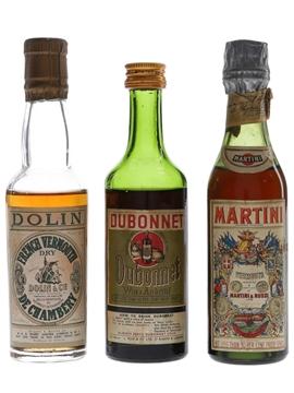 Dolin, Dubonnet & Martini