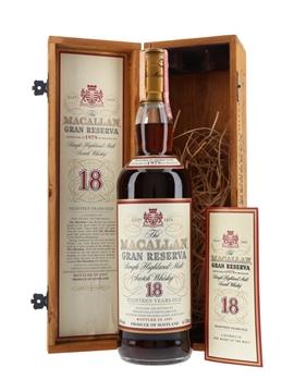 Macallan 1979 18 Year Old Gran Reserva Bottled 1997 70cl / 40%