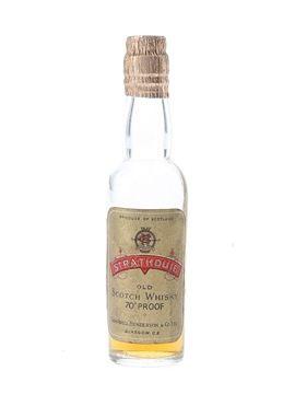 Strathduie Old Scotch Whisky Bottled 1950s - Campbell, Henderson & Co. 5cl / 40%