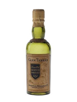 Glen Tarras Special Liqueur Bottled 1930s-1940s - Malcolm, Donald & Co. 5cl / 40%
