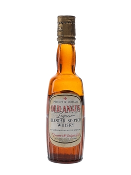 Old Angus Bottled 1940s-1950s - Train & McIntyre 5cl