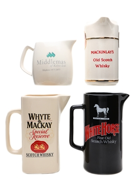 Assorted Whisky Jugs