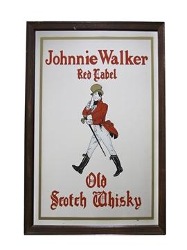 Johnnie Walker Red Label Mirror