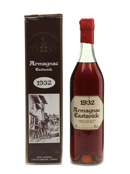 Castarède 1932 Armagnac