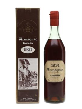 Castarède 1931 Armagnac