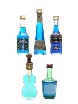 Blue Curacao Liqueurs