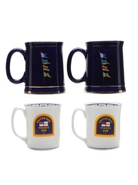 Pusser's Rum Mugs