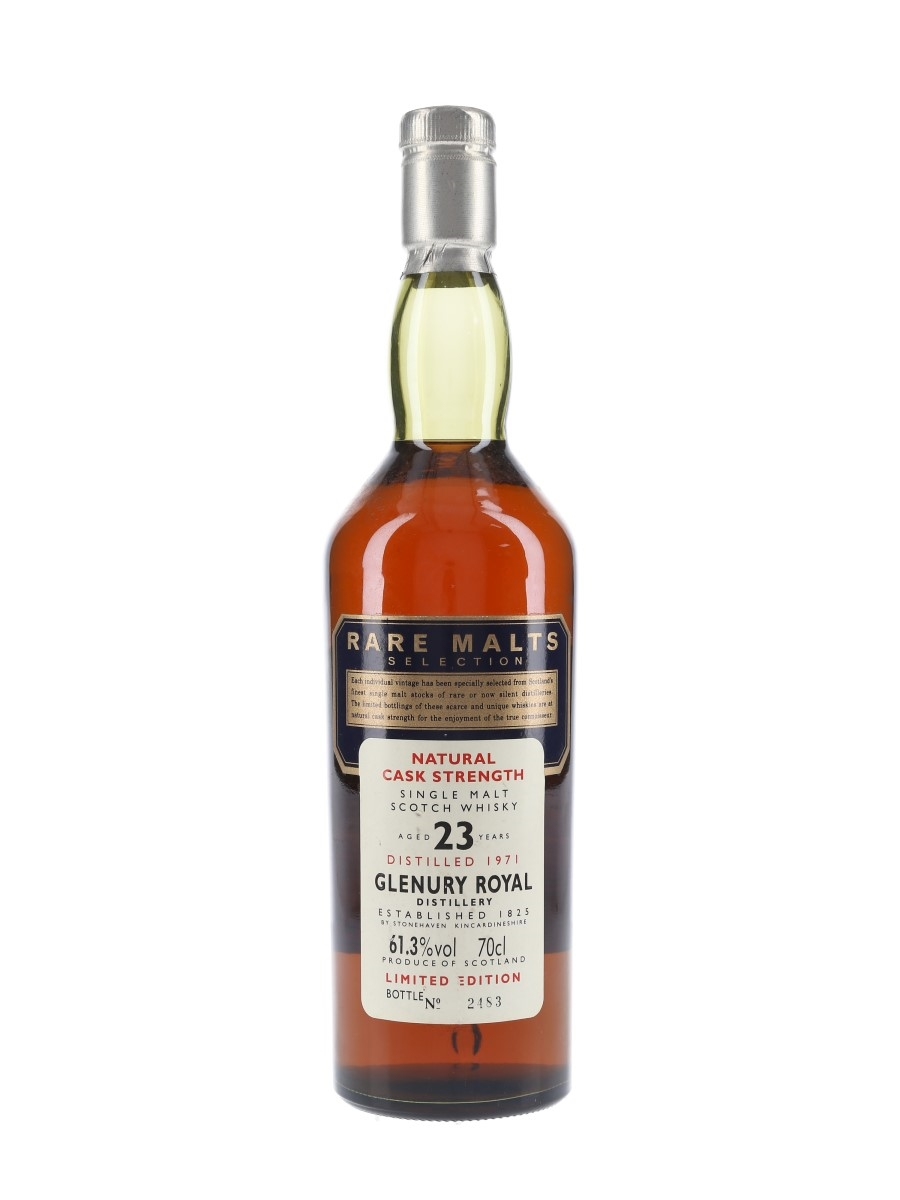 Glenury Royal 1971 23 Year Old Rare Malts Selection 70cl / 61.3%