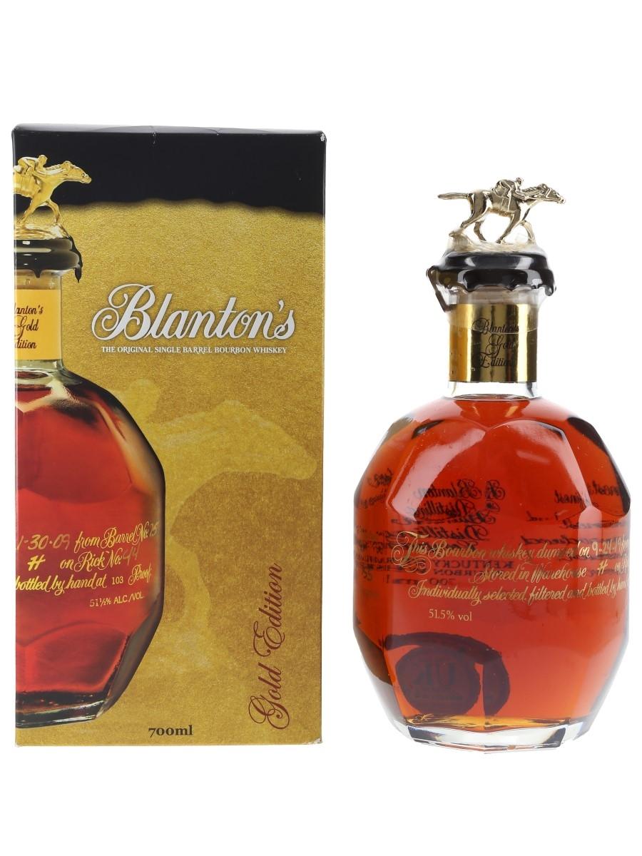 Blanton's Gold Edition Barrel No. 338 Bottled 2019 70cl / 51.5%