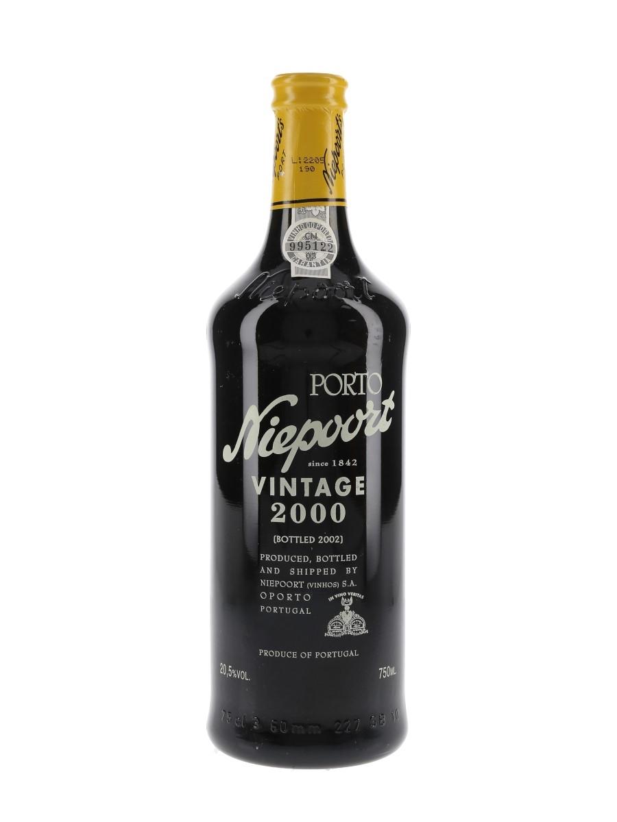 Niepoort 2000 Vintage Port Bottled 2002 75cl / 20.5%