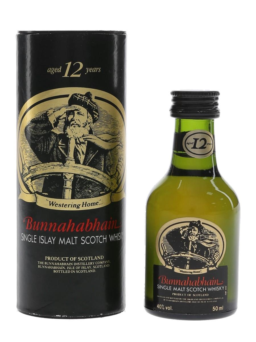 Bunnahabhain 12 Year Old Bottled 1980s-1990s 5cl / 40%