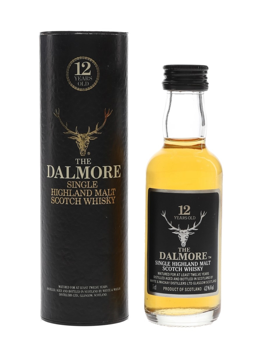 Dalmore 12 Year Old Bottled 1990s 5cl / 43%