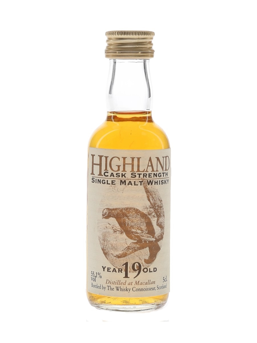 Macallan 19 Year Old Cask Strength The Whisky Connoisseur 5cl / 55.1%