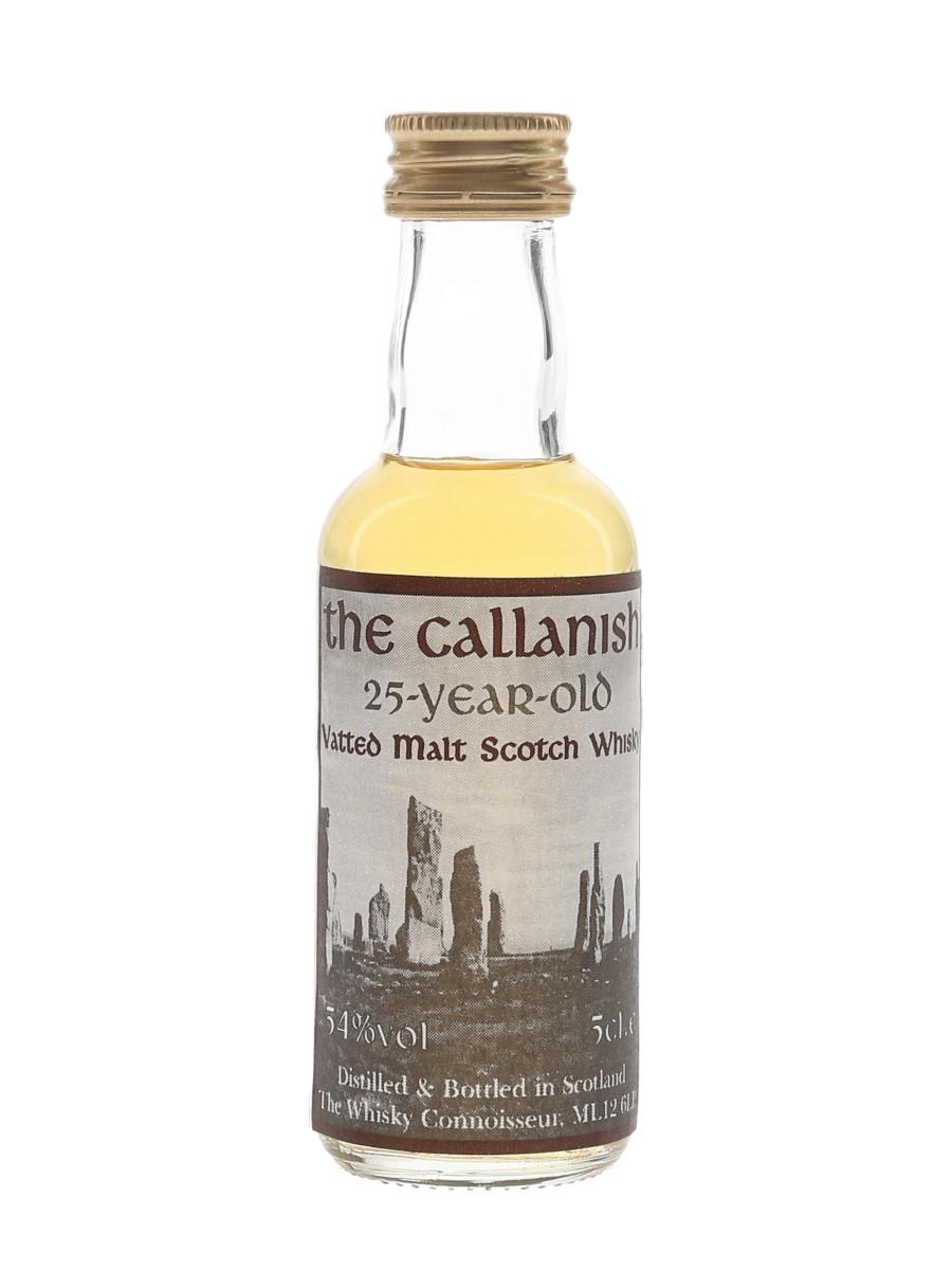 The Callanish 25 Year Old The Whisky Connoisseur 5cl / 54%