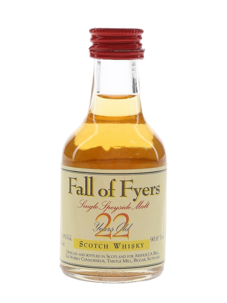Linkwood 1972 22 Year Old Fall Of Fyers The Whisky Connoisseur - The Robert Burns Collection 5cl / 51.8%