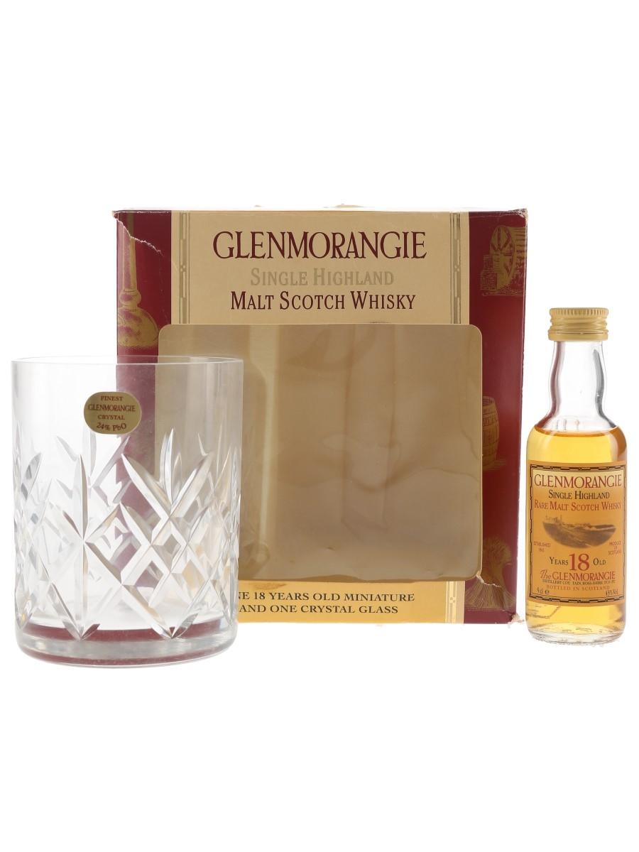 Glenmorangie 18 Year Old Tumbler Gift Pack  5cl / 43%