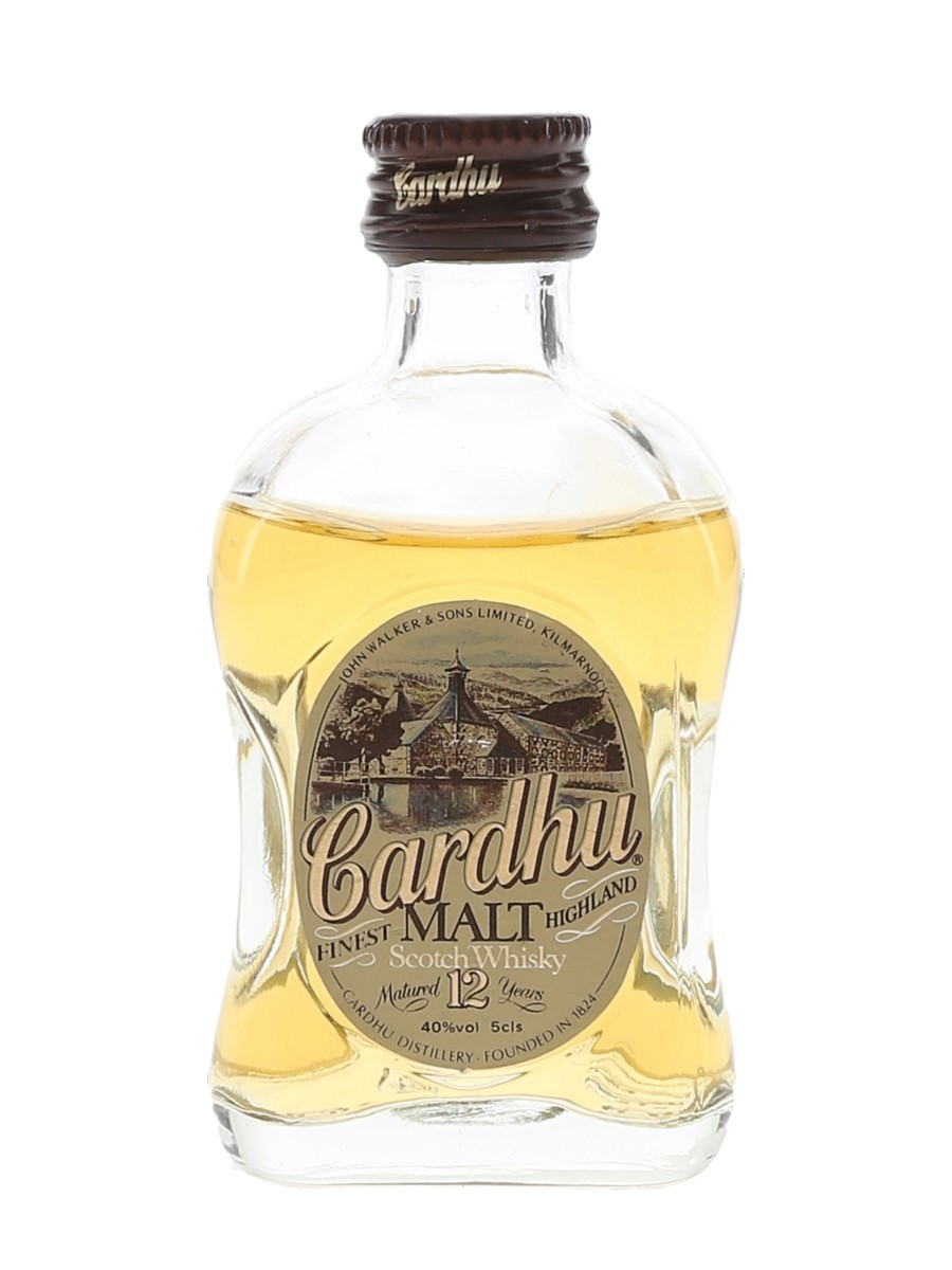 Cardhu 12 Year Old Bottled 1980s 5cl / 43%