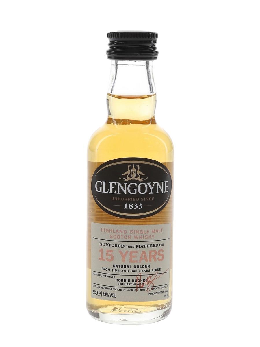 Glengoyne 15 Year Old  5cl / 43%