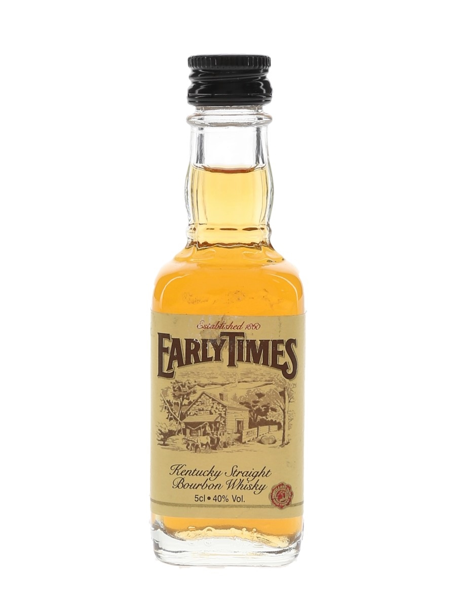Early Times Bottled 1990s 5cl / 40%