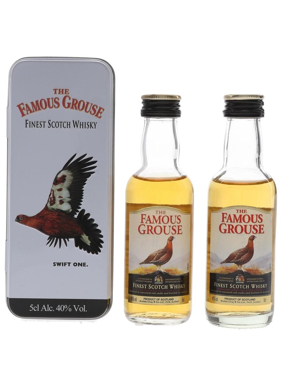 Famous Grouse Finest  2 x 5cl / 40%